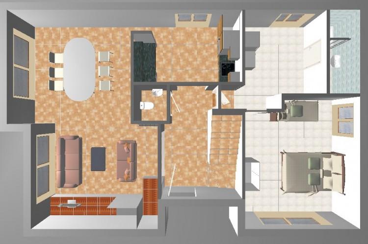Feriehuset - stueplan